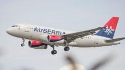 Airbus A319-132 Air Serbia YU-API