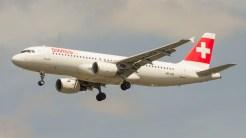 Airbus A320-214 Swissair HB-IJO