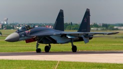 Sukhoi Su-35S 07 RED Russian AF