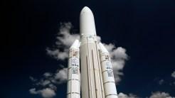 IMGP2458 Le Bourget Museum Ariane 5 ESA rocket