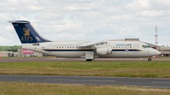 BAE Systems Avro 146-RJ100 QQ101 UK Empire test pilots school
