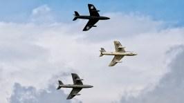 IMGP4869 Hawker Hunter 3Ship Team Viper Hunter UK