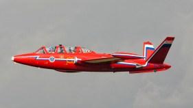 IMGP5023 Fouga CM-170R Magister F-GLHF Dutch Historic Jet Association