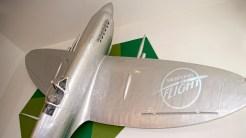 IMGP6086 Spirfire in lobby Hendon Museum