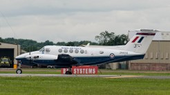 IMGP8384 Raytheon B200 King Air ZK450 RAF