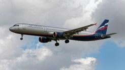 Airbus A321-211 VP-BRW Aerophlot