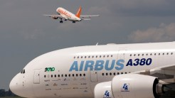 ILA A380 Airbus Easyjet takeoff