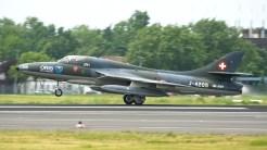 IMGP9761-ILA Hawker Hunter T68 Swiss air force colors J-4205