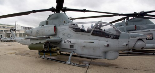 Panorama Bell AH-1Z Viper 168003 QT-615 US Marines