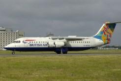 cdg06-05 BAe Avro 146-RJ100 G-BZAU British Airways