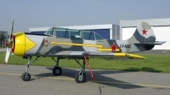 Yakovlev Bacau Yak-52 LY-AQC