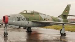 Republic F-84F Thunderstreak Luftwaffe DD-313