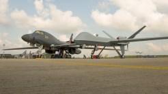 MQ 9 Reaper-Predator and Rockwell B-1B 86-0111 USAF