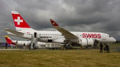 Bombardier BD-500-1A10 CSeries CS100 Swiss C-GWXZ s