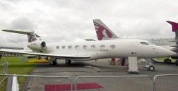 Gulfstream G650 Qatar Airways