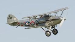 Hawker Demon G-BTVE K8203