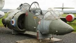 Hawker Siddeley Harrier T2 cockpit