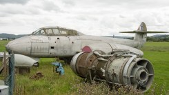 Gloster Meteor T7 WL349
