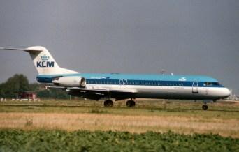 Fokker 100 PH-KLG KLM