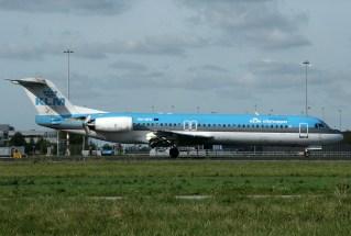 Fokker 100 PH-OFK KLM Cityhopper