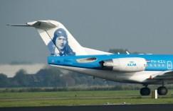 Fokker 70 PH-KZU KLM Cityhopper On her tail Anthony Fokker
