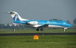 Fokker 70 PH-KZU KLM Cityhopper
