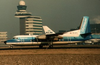 Fokker F.27-500 Friendship PH-KFI NLM Cityhopper