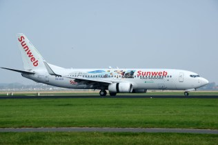 Boeing 737-8K2 PH-HZG Sunweb (Transavia Airlines)