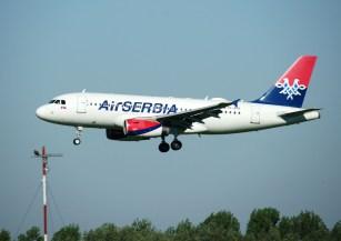 Airbus A319-132 YU-APE Air Serbia