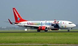 Boeing 737-804 PH-CDF Corendon Dutch Airlines Vrienden Loterij