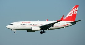 Boeing 737-7BK 4L-TGN Airzena - Georgian Airways