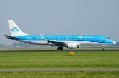 Embraer 190STD PH-EZA KLM Cityhopper