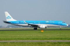 Embraer 190STD PH-EZA KLM Cityhopper