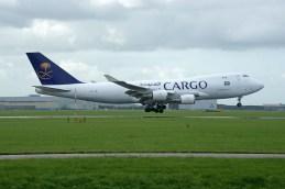 Boeing 747-428FERSCD TC-ACR Saudia - Saudi Arabian Airlines Cargo (ACT Airlines)