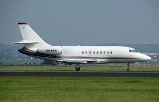 Dassault Falcon 2000EX CS-DFK NetJets Europe