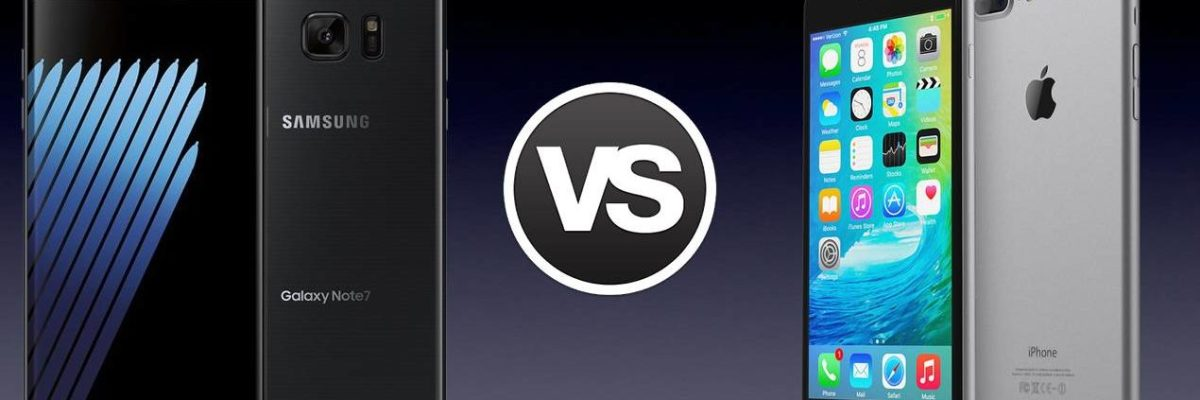 Samsung Galaxy Note 8 Vs iPhone 8: Comparison Between 2017's Biggest Releases