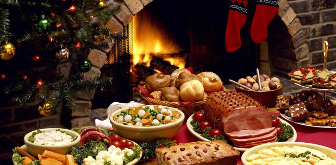 cena saludable en Navidad