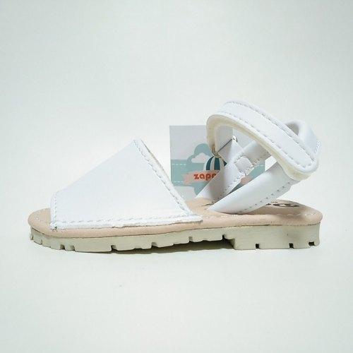 Menorquinas Blancas Velcro Duvic