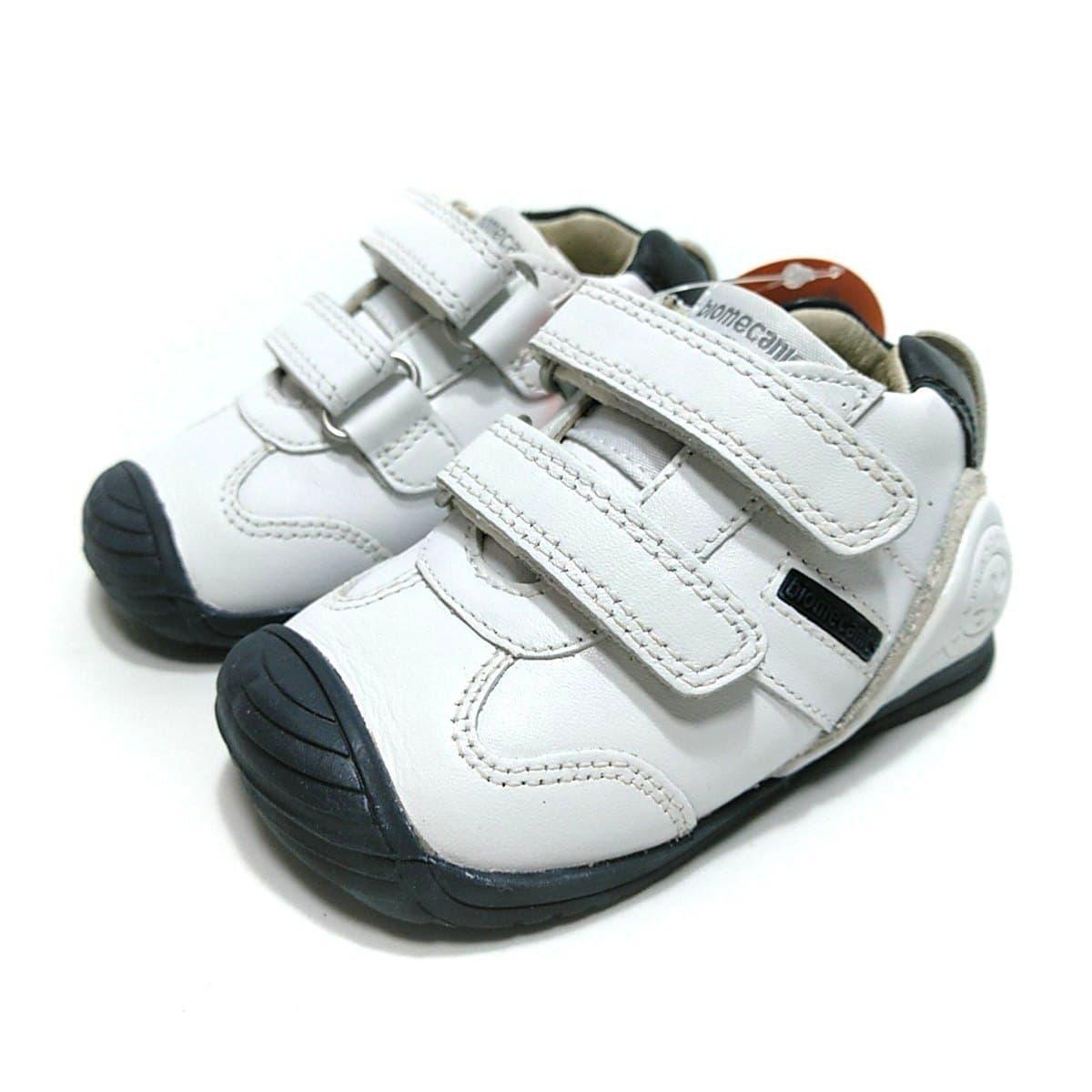 fd203e2e310aa Biomecanics deportivo bebé piel blanco marino de niño doble velcro