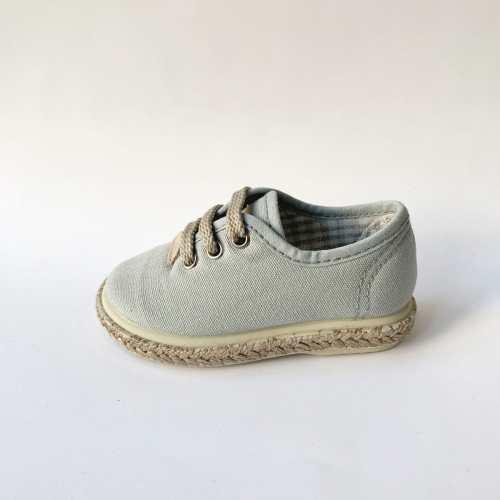 Comprar zapatillas de Piqué Gris para niño