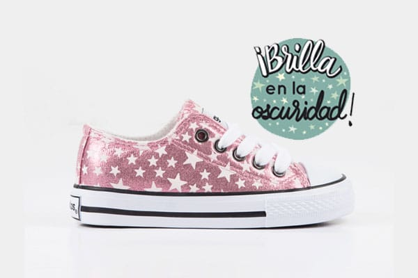 zapatillas que brillan conguitos