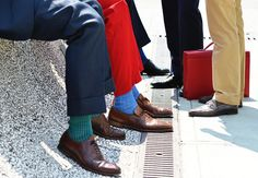 Calcetines de colores para hombre