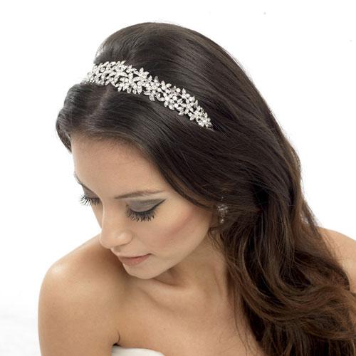 serena wedding headband