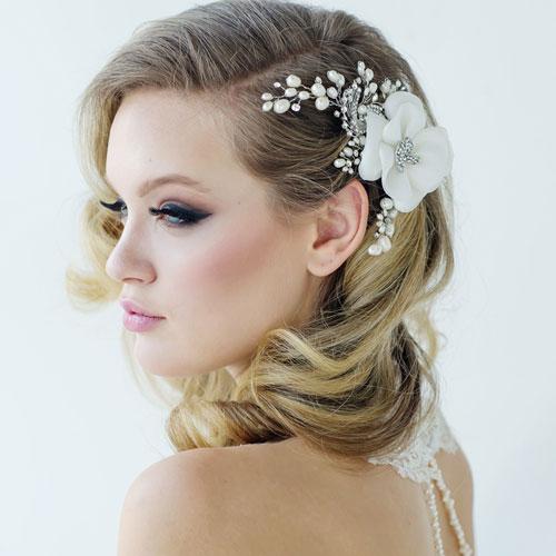vintage flower hair accessory miriam