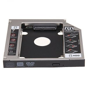 Adaptador HDD/SSD 7.0mm para Unidad Portatil 9.5 mm