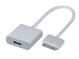 Adaptador HDMI iPad iPhone iPod