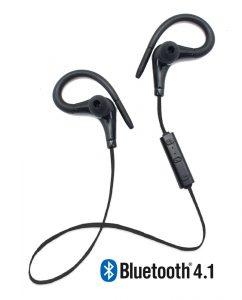 Running Earphones Sports Bluetooth + Micro Biwond Negro