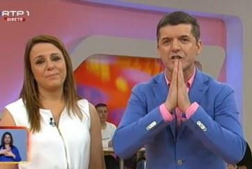 Já na SIC, João Baião dedica palavras a Tânia Ribas de Oliveira em direto [vídeo]