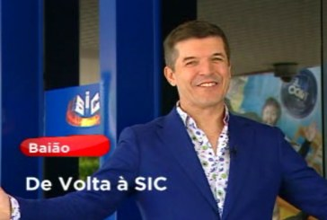 João Baião assina contrato com a SIC em direto [vídeo]