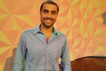 Ricardo Pereira na calha para apresentar programa na Globo